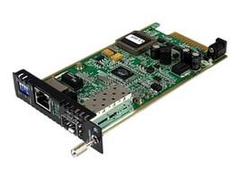 StarTech.com GbE Fiber Media Converter Card Module w Open SFP, ET91000SFP2C, 16441644, Network Transceivers