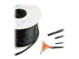 Panduit Braided Expandable Sleeving, Black, 100ft, SE75P-CR0, 13672973, Cable Accessories