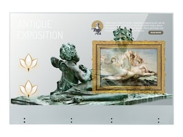 LG 55 Full HD Transparent OLED Touchscreen Signage Display, 55EW5TF-A, 38295481, Monitors - Large Format - Touchscreen