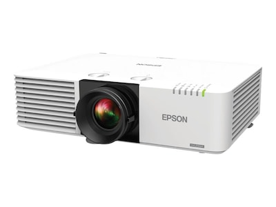 Epson PowerLite L610W WXGA Laser Projector, 6000 Lumens, V11H904020, 35542459, Projectors