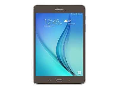 Open Box Samsung Galaxy Tab A APQ 8016 1.2GHz 1.5GB 16GB abgn BT 2xWC 8 MT Android 5.0 Titanium, SM-T350NZAAXAR, 31629477, Tablets