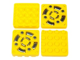 Modular Robotics Brick Adapter-4-pack, CB-KT-BRICK4PK-1, 37940637, STEAM Toys & Learning Tools