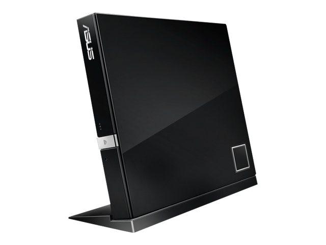 Asus 6x External Slim Combo BD DVD USB Drive - Black, SBC-06D2X-U/BLK/G/AS, 13649765, Blu-Ray Drives - External