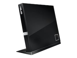 Asus 6x External Slim Combo BD DVD USB Drive - Black, SBC-06D2X-U/BLK/G/AS, 13649765, Blu-Ray Drives - External