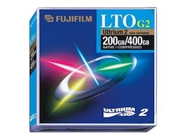 Fujifilm 200GB 400GB LTO Ultrium 2 Tape Cartridge Custom Labeled, 600003258, 9428361, Tape Drive Cartridges & Accessories