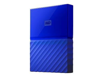 WD 2TB My PassPort USB 3.0 Portable Hard Drive - Blue, WDBS4B0020BBL-WESN, 35371573, Hard Drives - External