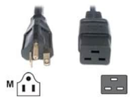 Eaton Power Adapter Cable, IEC320-C19 to 6-20P, 8ft, 010-9337, 10166223, Power Cords