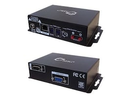 Siig VGA and RS-232 Cat5 Extender with RGB Delay Control, CE-VG0611-S1, 10778991, Video Extenders & Splitters