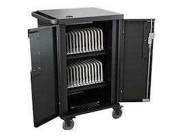 Bretford Manufacturing 24-Unit CoreX Charging Cart, TCOREX24, 31750761, Computer Carts
