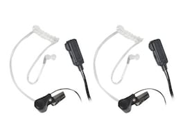 Midland Radio AVPH3 Transparent Security Headsets with PTT VOX - Pair, AVP-H3, 13839999, Headsets (w/ microphone)