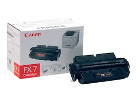 Canon Black FX7 Toner Cartridge for LC710 & LC730 Fax Machines, 7621A001AA, 463166, Toner and Imaging Components