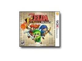 Nintendo Legend Zelda Tri Force, 3DS, CTRPEA3E, 30006307, Video Games