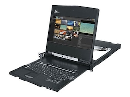 Middle Atlantic 1U 19 HD Rackmount Console 17, RM-KB-LCD17HD, 33098500, KVM Displays & Accessories