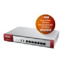 Zyxel USG210 UTM Firewall VPN Router w 1 Yr CF AV IDP AS w Free Access Point, USG210-K, 17644494, Network Routers