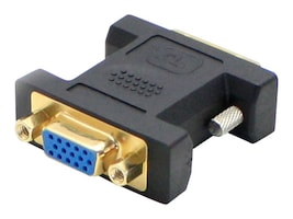 Add On DVI-I to VGA M F Black Adapter Converter, 5-Pack, DVII2VGAB-5PK, 32695433, Adapters & Port Converters