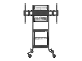 Avteq RPS-500 Height Adjustable AV Cart for 70? Cisco Spark Board, Black, RPS-500-BB-CSB70B, 34387012, Stands & Mounts - AV