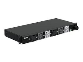 Panduit Basic Horizontal 1U PDU #PH 208V 60A, IEC 60309 Input, (6) C19 Outlets, 10ft Cord, Black, P06B03M, 34322850, Power Distribution Units