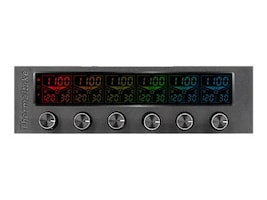 Thermaltake Commander F6 RGB LCD Multi Fan Controller, AC-024-BN1NAN-A1, 31463817, Cooling Systems/Fans