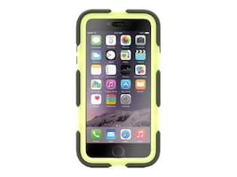 Griffin Survivor All-Terrain for iPhone 6 Plus, Olive Lime, GB40550, 17701049, Carrying Cases - Phones/PDAs
