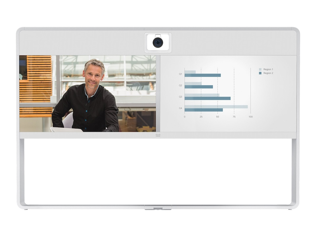 """Cisco TelePresence MX700 with Dual 55"""" Displays and Dual ..."""