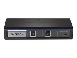 Avocent SV220D Desktop KVM, 2-port, Display Port, Audio, SV220D-001, 24347560, KVM Switches