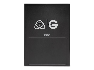 G-Technology 1TB Atomos Master Caddy 4K SATA USB 3.0 External Solid State Drive - Black, 0G05221, 33426358, Solid State Drives - External