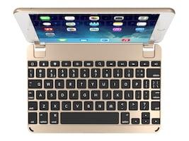 Brydge 7.9 Bluetooth Keyboard for iPad mini 4, Gold, BRY5103, 35133137, Keyboards & Keypads
