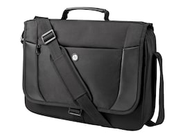 HP Essential Messenger Case, Fits up to 17.3 Screen, H1D25UT, 32314531, Carrying Cases - Notebook