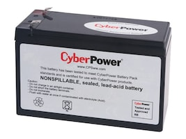 CyberPower UPS Replacement Battery Cartridge 12V 8Ah Battery, RB1280, 14775034, Batteries - UPS