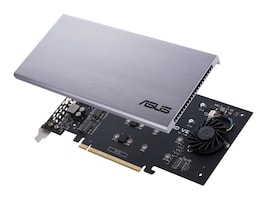 Asus HYPER M.2 X16 CARDV2 Main Image from Right-angle