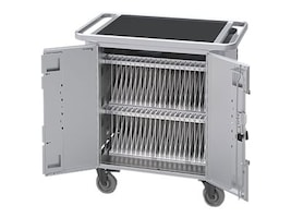 Bretford Manufacturing PureCharge Cart 40 for iPad, iPad Mini, HGFM2BG1, 20726992, Computer Carts