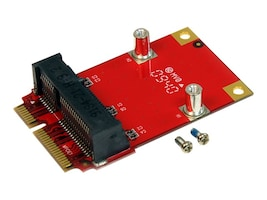 StarTech.com Half-Size to Full-Size Mini PCI Express Adapter, HMPEXADP, 12717121, Motherboard Expansion