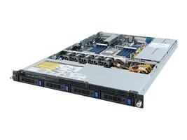 Gigabyte Tech Barebones, R152-Z30 Rev. 100 1U RM (1x)CPU slot 16xDIMMs 4x2.5-3.5 HS flex bays 2xGbE 2x650W NoOS, R152-Z30, 37598632, Barebones Systems