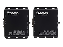 Gefen GTB-UHD2IRS-ELRPOL-BLK Main Image from Front