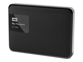 WD 1TB My Passport for Mac USB 3.0 Portable Hard Drive, WDBJBS0010BSL-NESN, 22159004, Hard Drives - External