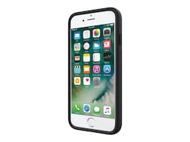 Incipio Stowaway Credit Card Case with Integrated Stand for iPhone 7, Black, IPH-1477-BLK, 33014185, Carrying Cases - Phones/PDAs