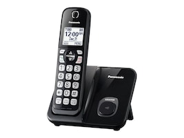 Panasonic Expandable Cordless Phone Handset w  Call Block, KX-TGD510B, 34650626, Telephones - Consumer