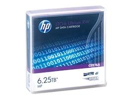 HPE 6.25TB LTO-6 Ultrium Metal Particle RW Data Cartridge, C7976A, 15115610, Tape Drive Cartridges & Accessories