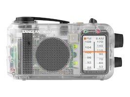 Sangean Multi-Powered FM AM Radio Receiver - Clear, MMR-77CL, 17561171, Stereo Components