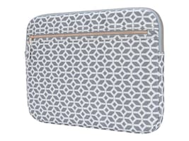 Targus ARTS EDITION SLEEVE GEOMETRIC GREYWHIT, TSS99905GL, 36924133, Carrying Cases - Other