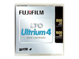 Fujifilm LTO-4 800 1600GB Tape Cartridge, Labeled, 600006393, 7673689, Tape Drive Cartridges & Accessories