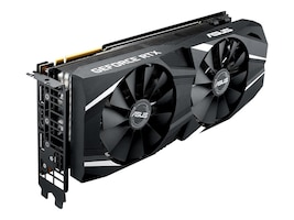 Asus DUAL-RTX2080-8G Main Image from Left-angle