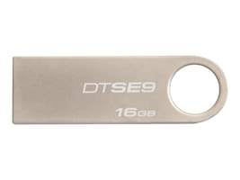 Kingston 16GB DataTraveler SE9 USB 2.0 Flash Drive, DTSE9H/16GBZ, 13665765, Flash Drives