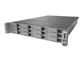Cisco Connected Safety and Security UCS M4 2RU K9 (2x)Xeon 6C E5-2620 v3 2.4GHz 16GB 12x3.5 Bays 2x650W, CPS-UCSM4-2RU-K9, 33121773, Servers
