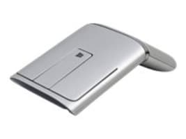 Lenovo N700 Dual Mode Wireless Bluetooth Mouse, Laser Pointer, Silver, 888016249, 31076331, Mice & Cursor Control Devices