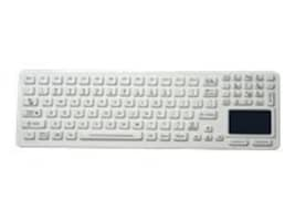 iKEY NEMA 4x Sealed Keyboard with Touchpad, 2-Mouse Buttons, Light Grey, SLK-97-TP-USB, 10199341, Keyboard/Mouse Combinations