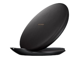 Samsung Fast Charge Wireless Charging Convertible Stand, Black, EP-PG950TBEGUS, 33965811, Battery Chargers