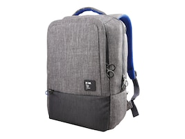 Lenovo On Trend Backpack by NAVA for 15.6 Notebooks, Gray, GX40M52033, 33151016, Carrying Cases - Notebook