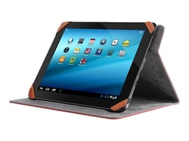 Aluratek Universal Folio Travel Case for 9.7 10 Tablet & iPads, Red, AUTC10FR, 31199008, Carrying Cases - Tablets & eReaders
