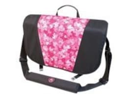 Mobile Edge Sumo Messenger Bag, Black Pink, ME-SUMO33MBX, 10097723, Carrying Cases - Notebook